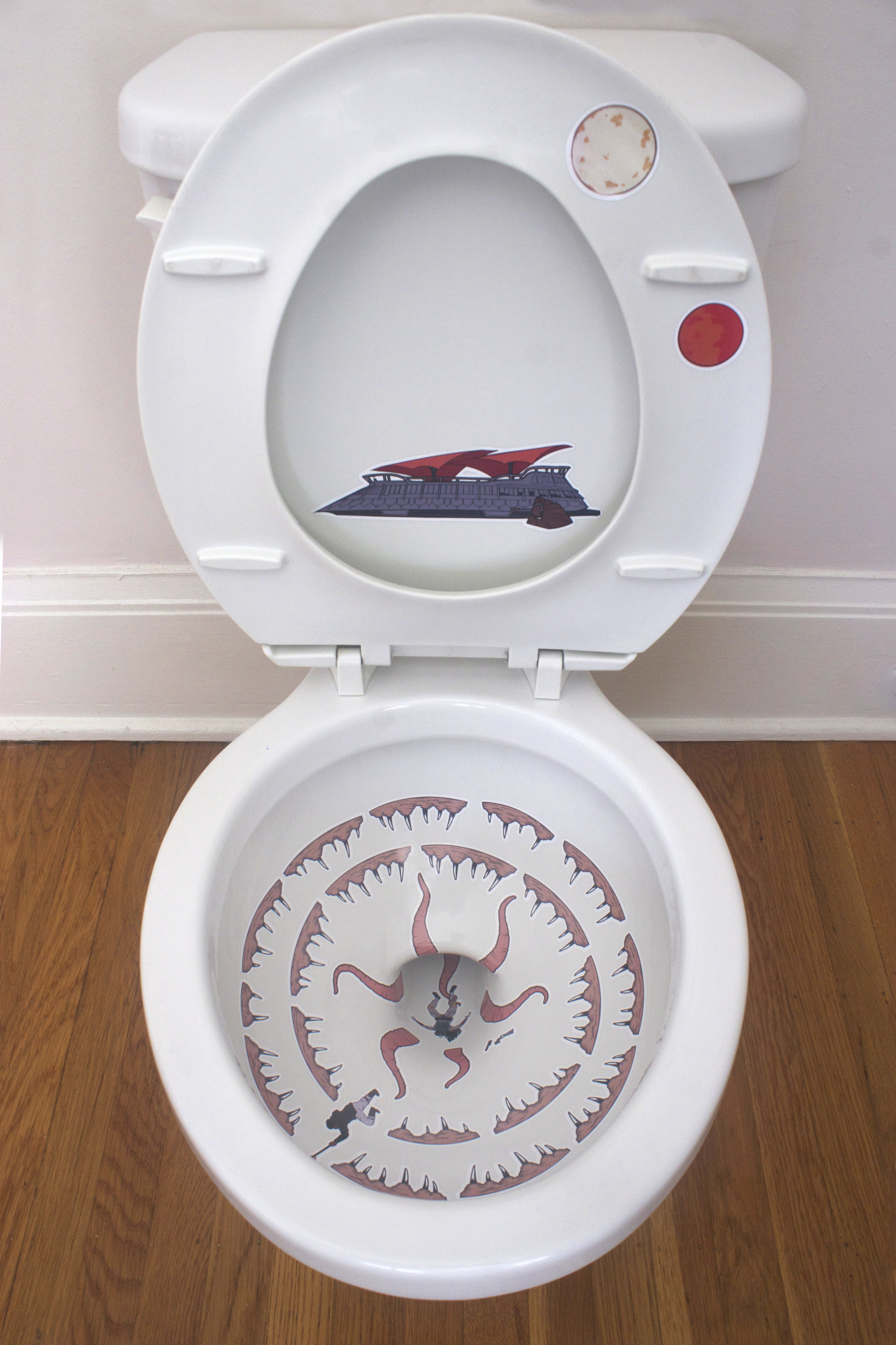 How to turn your toilet into a Star Wars sarlacc pit