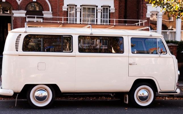 Pride and joy: Ursula, the 1969 VW Kombi camper van, stolen in London last week