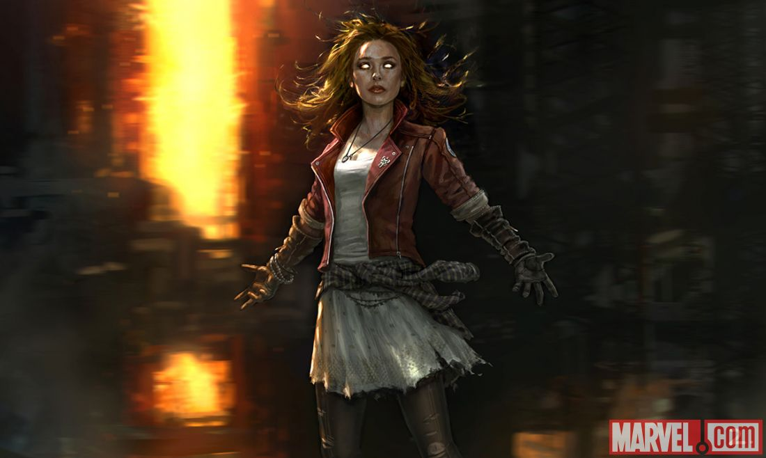Scarlet Witch is played by Elizabeth Olsen in the new film (Picture: Marvel)