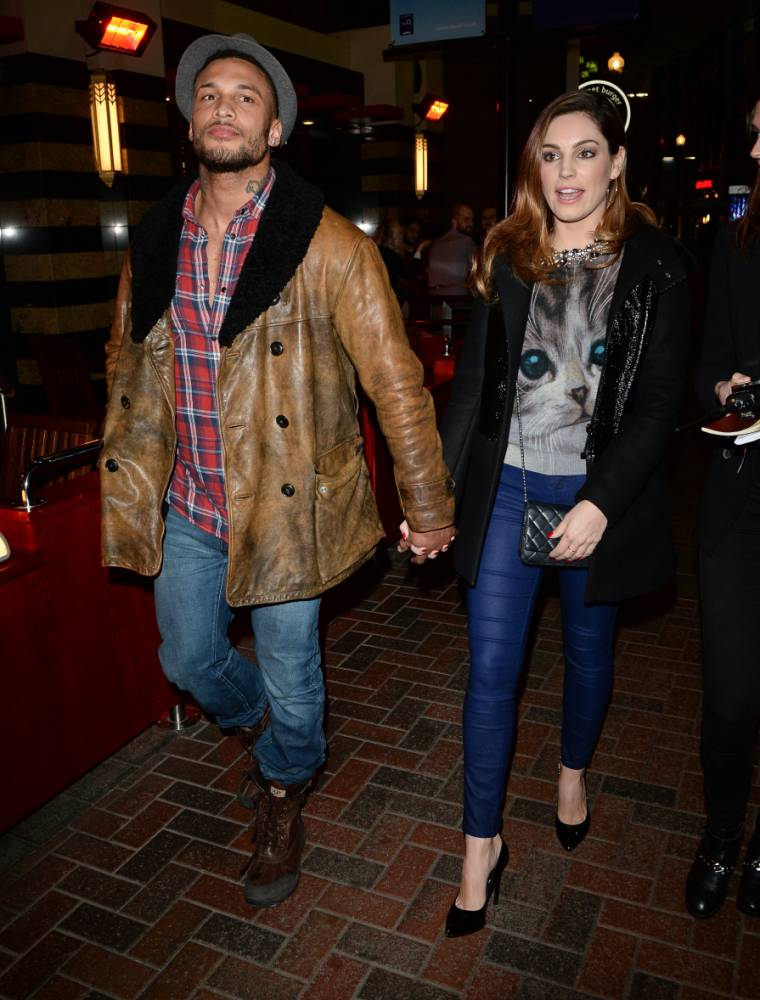 Kelly Brook engaged to ex-Gladiators star David McIntosh after whirlwind romance