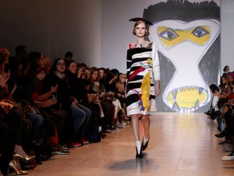 Pictures: Models sport weird and wonderful designs from Tsumori Chisato at Paris Fashion Week