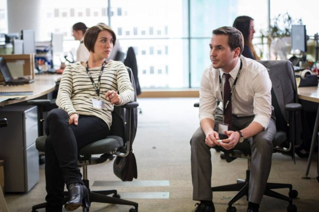 Vicky McClure and Martin Compston in Line Of Duty (Picture: Steffan Hill)