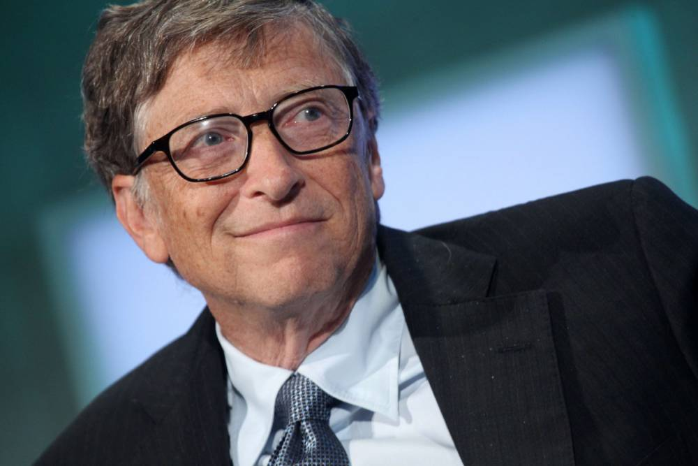 Microsoft founder Bill Gates tops the Forbes magazine rich list