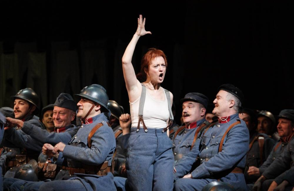 Patrizia Ciofi in Meyebeer's la Fille due Regiment at Royal Opera House (Picture: Catherine Ashmore)
