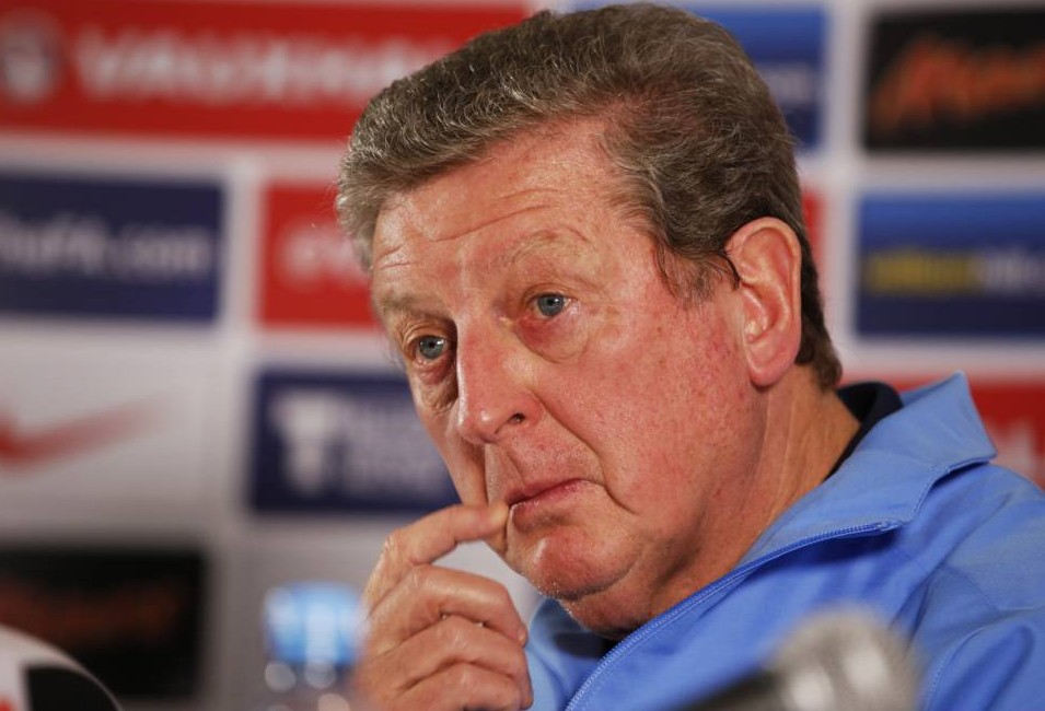 Football - England Press Conference - The Grove Hotel, Hertfordshire - 4/3/14  England's manager Roy Hodgson during the press conference  Mandatory Credit: Action Images / John Sibley  Livepic  EDITORIAL USE ONLY.