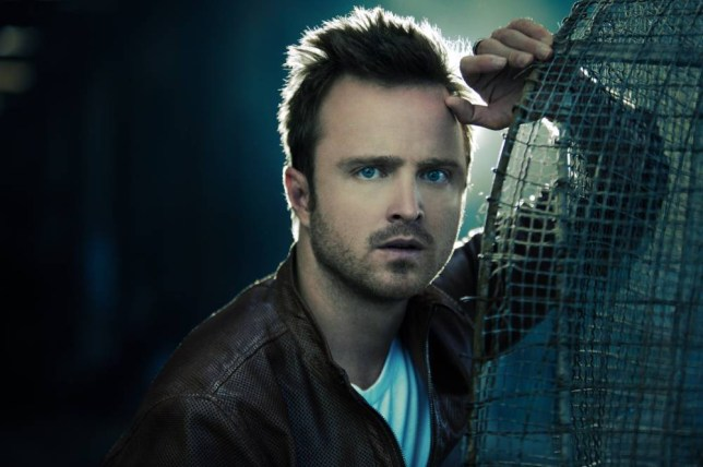 Aaron Paul's love of acting started while performing in church plays (Picture: Anthony Mandler)