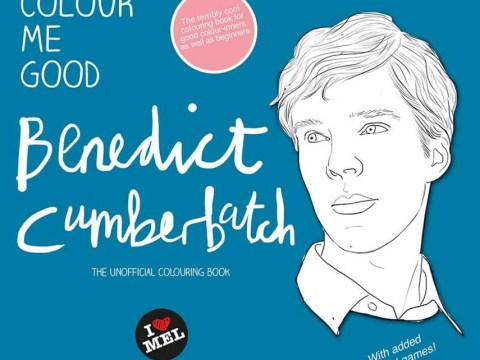 You need to have this Benedict Cumberbatch colouring book in your life