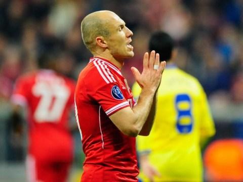 Arsenal boss Arsene Wenger just a bad loser, says Bayern Munich 'diver' Arjen Robben