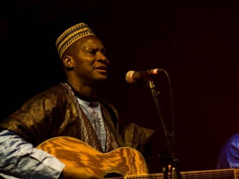A rare chance to see Malian musician Sidi Touré in Britain