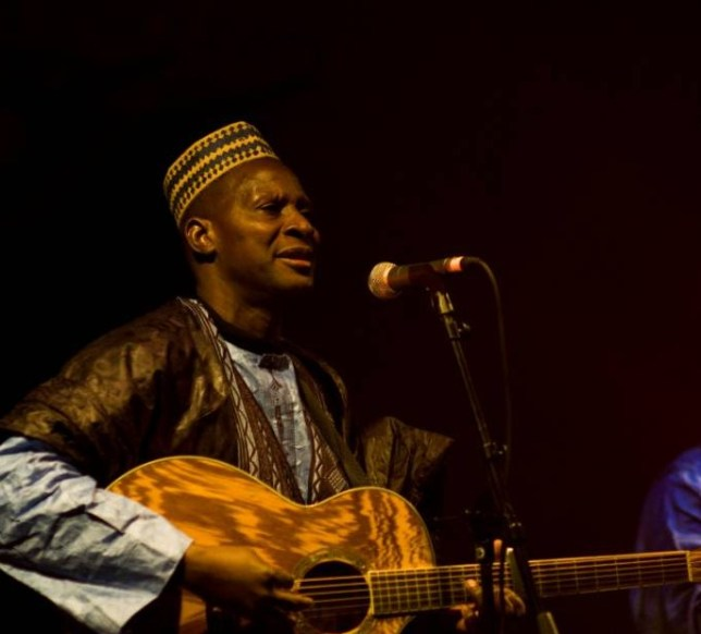 Sidi Touré is only playing four gigs in Britain during this tour (Picture: Johnathan Crawford)