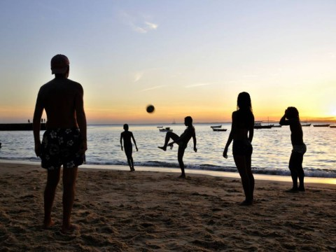 Travel to Salvador in Brazil and keepy-up the World Cup spirit