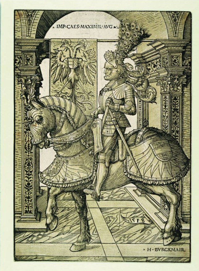 Hans Burgkmair's woodcut Emperor Maximilian On Horseback is on show at the RA (Picture: supplied)