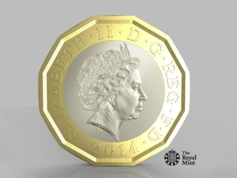 New pound coin: Doesn't it look just like a euro?