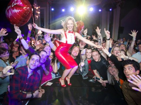 Pictures: Kylie gets raunchy in Sexercise video and intimate gig