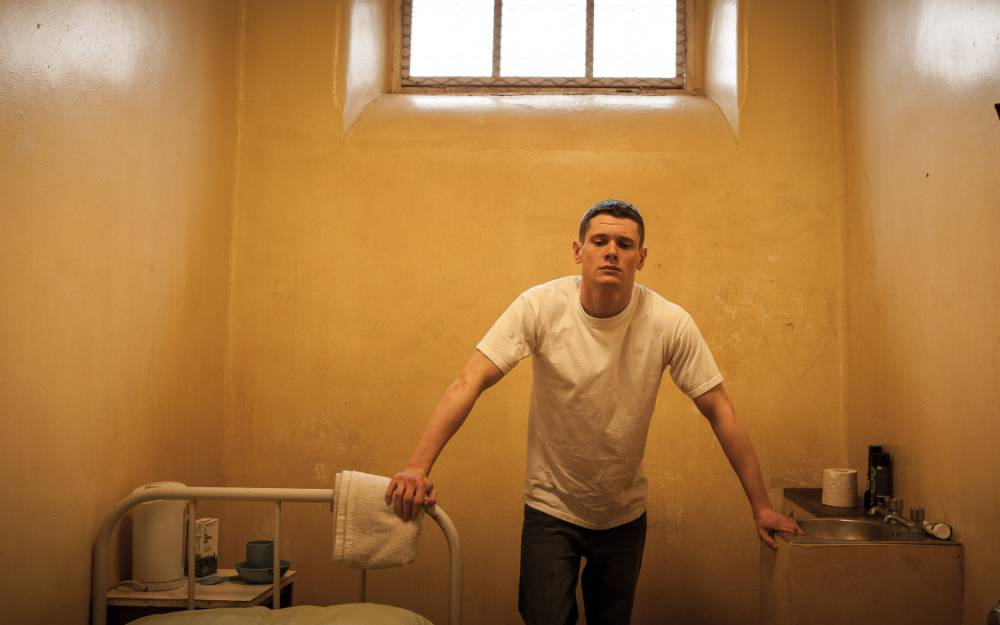 Jack O'Connell gives a knock-out performance in brutally brilliant Starred Up