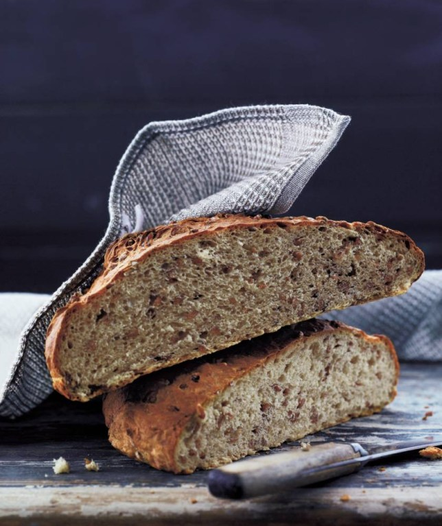 Wholewheat bread from The Scandinavian Cookbook by Trine Hahnemann (Picture: Lars Ranek)