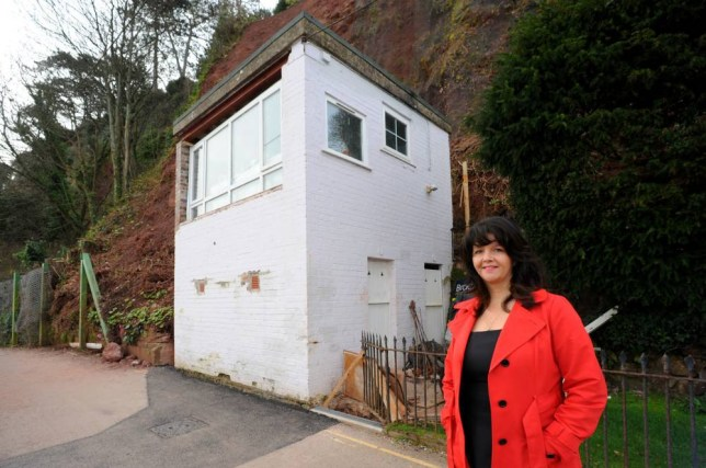 A tiny property in an exclusive area with no running water has sold for £200,000. The Gun House on Marine Parade, Shaldon, Devon is the latest bijou des-res to attract a sky-high asking price in the sought after seaside village