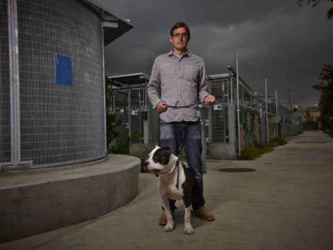 There were no obvious targets for Louis Theroux's sly satire in this sad dog story