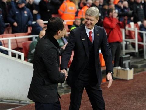 Ex-Arsenal chairman hints Roberto Martinez could replace Arsene Wenger