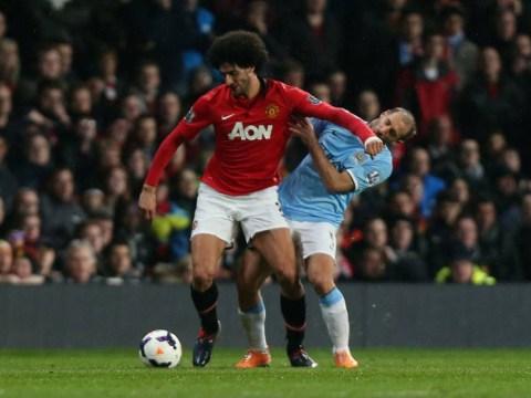 Pablo Zabaleta ran into my elbow during Manchester derby, claims Marouane Fellaini