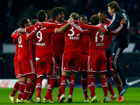 Bayern Munich retain the Bundesliga title: The best pictures from their record-breaking night
