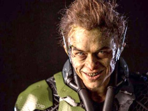 Doesn't Dane DeHaan look creepy as the Green Goblin in The Amazing Spider-Man 2?