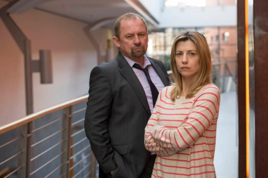 Peter Firth and Claire Goose in new TV drama Undeniable (Picture: ITV)