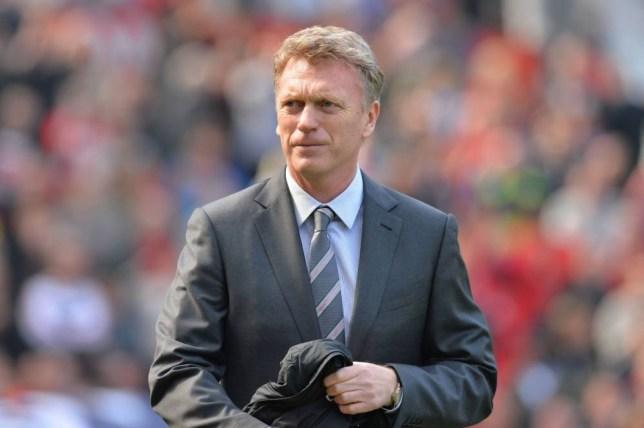 Manchester United's Scottish manager David Moyes arrives before kick off of the English Premier League football match between Manchester United and Aston Villa at Old Trafford in Manchester, northwest England, on March 29, 2014. AFP PHOTO / ANDREW YATES  RESTRICTED TO EDITORIAL USE. No use with unauthorized audio, video, data, fixture lists, club/league logos or live services. Online in-match use limited to 45 images, no video emulation. No use in betting, games or single club/league/player publicationsANDREW YATES/AFP/Getty Images
