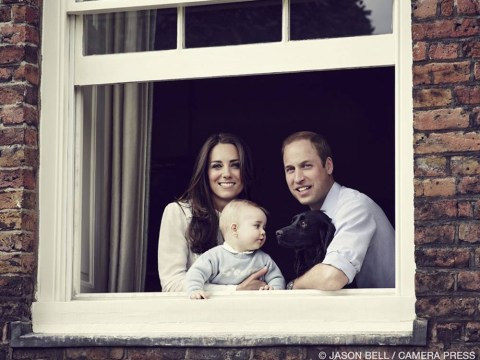 Prince George still a baby, official photo confirms