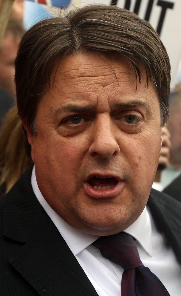Good riddance, Nick Griffin: The ex-BNP leader's fall is complete