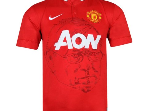 Leaked! Sir Alex Ferguson's face set to appear on new Manchester United home shirt in bold move from Nike