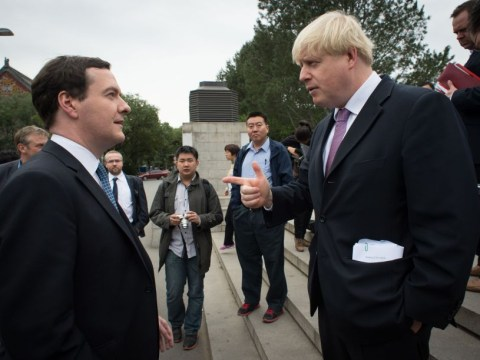 Boris Johnson plays down talk of feud with George Osborne