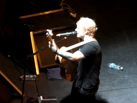 Ed Sheeran debuts new song Take It Back Now