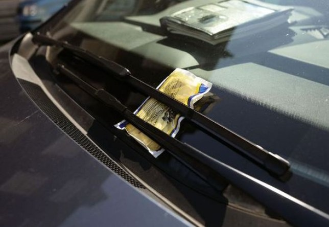 Kenneth Lambourne: Motorist pays fine with 2,500 penny coins