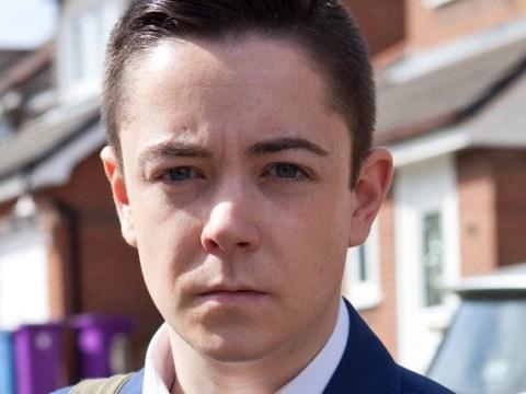 What did Finn O'Connor do to John Paul McQueen in Hollyoaks?