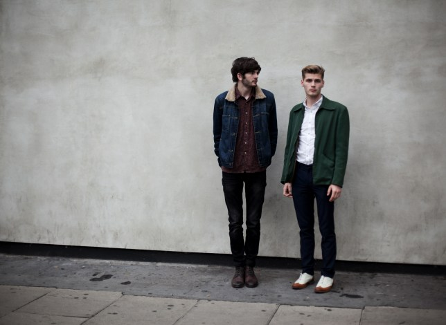 Harry (left) and Alfie (right) of Hudson Taylor have revealed Boyzone tried to split them up - but Sting and Paul Simon were more encouraging (Picture: Polydor/Universal)