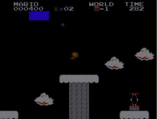Image 1- One of the strange glitch worlds