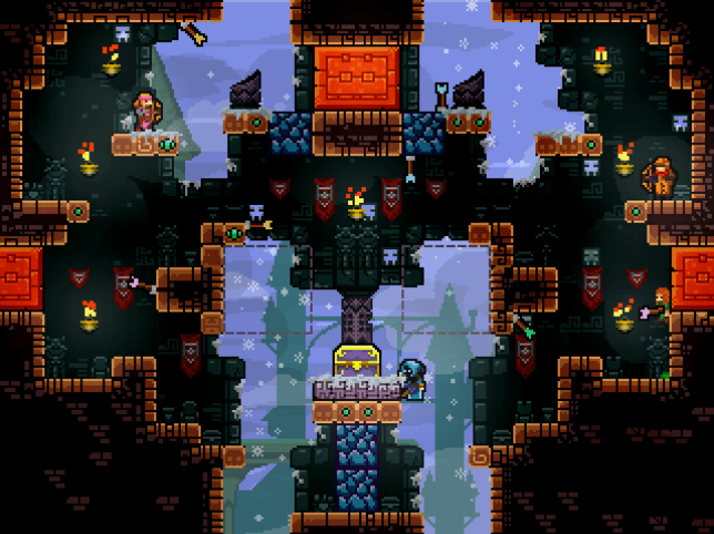 TowerFall Ascension (PS4) - it may not look like much, but it's got it where it counts
