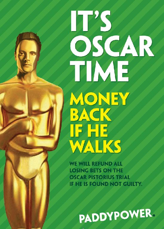 Betting company offers 'money back if he walks' deal on Oscar Pistorius trial