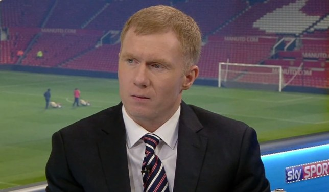 Paul Scholes was scathing of Arsenal's title credentials (Picture: Sky Sports/YouTube)