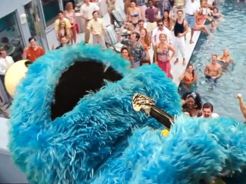 Sesame Street does Wolf of Wall Street: The most funny video you will watch today