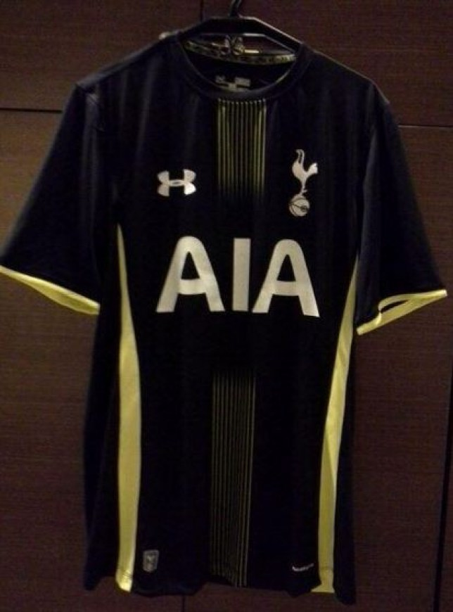 separation shoes c84ed 3a767 Tottenham news: Is this Spurs' 2014/15 away shirt? | Metro News