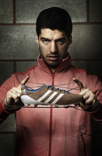 Suarez wears them but where do knitted Adidas football boots fit in to the weekly five-a-side?