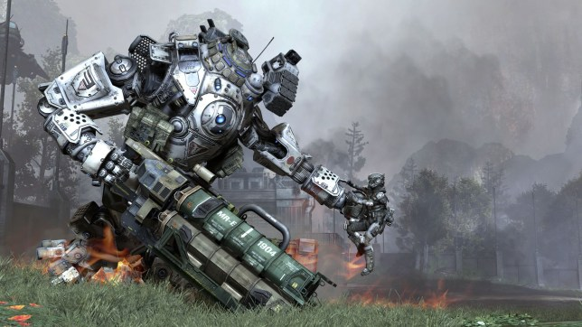 Titanfall - a touching love story behind man and machine