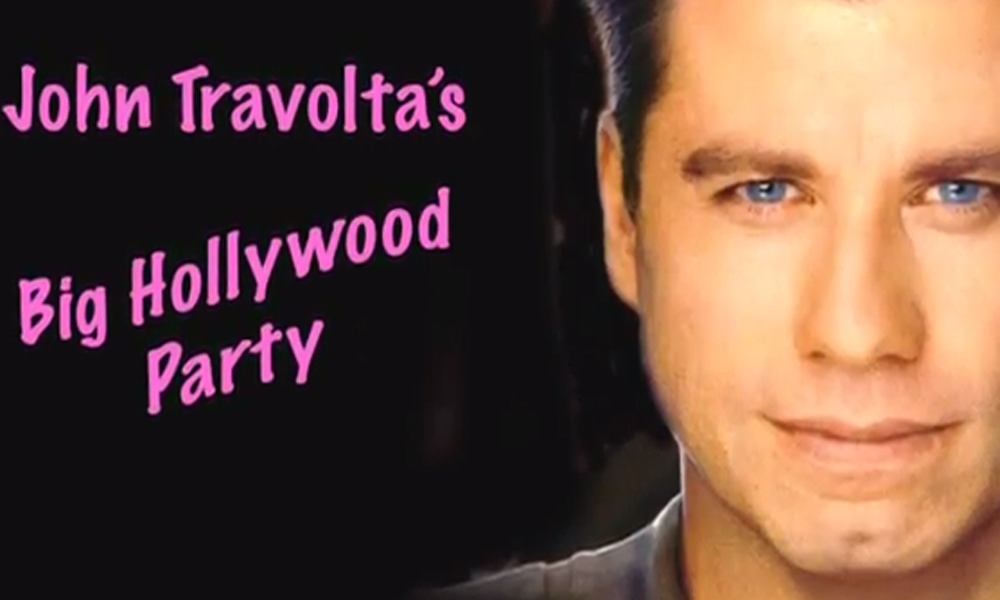 John Travolta's Big Hollywood Party sees the man himself – apparently – mangling more famous names