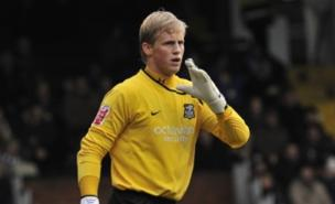 Kasper Schmeichel will leave Notts County at the end of the season