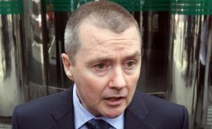 Willie Walsh was escorted from the building by police (PA)