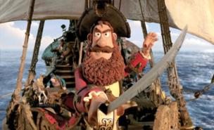 Hugh Grant plays the Pirate Captain (Sony Pictures)