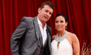 Shane Richie and Jessie Wallace enjoyed success at the British Soap Awards (PA)