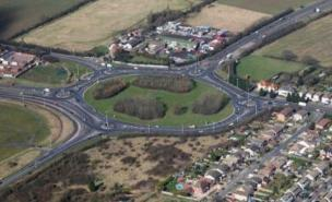 The 'Magic Roundabout' in Hemel Hempstead has been named Roundabout Idol 2011